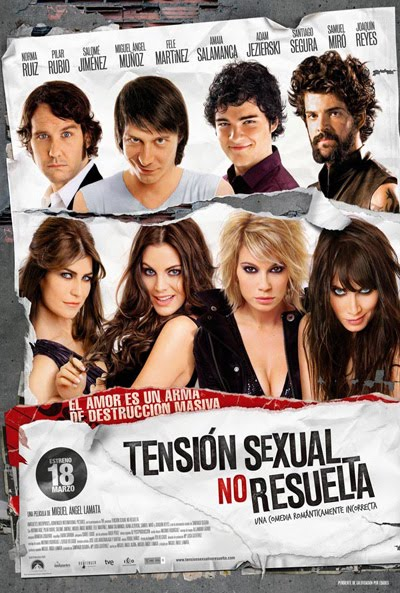 Tension sexual no resuelta. Un estreno con cuatro super-bellezas. VIDEO.