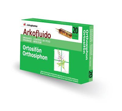 Desintoxica, limpia tu organismo y rejuvenece con  Arkofluido Ortosifón en ampollas.