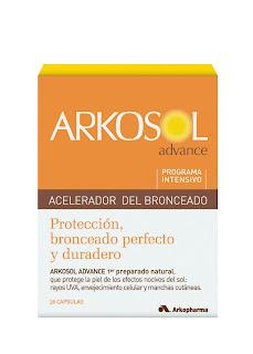 Con un pie en la playita… Arkosol Advance   el preferido por los consumidores españoles para un bronceado seguro y duradero.
