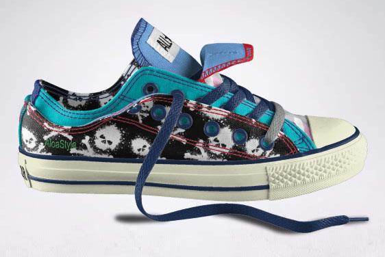 My own Converse design ¡¡  Mi propio diseño Converse