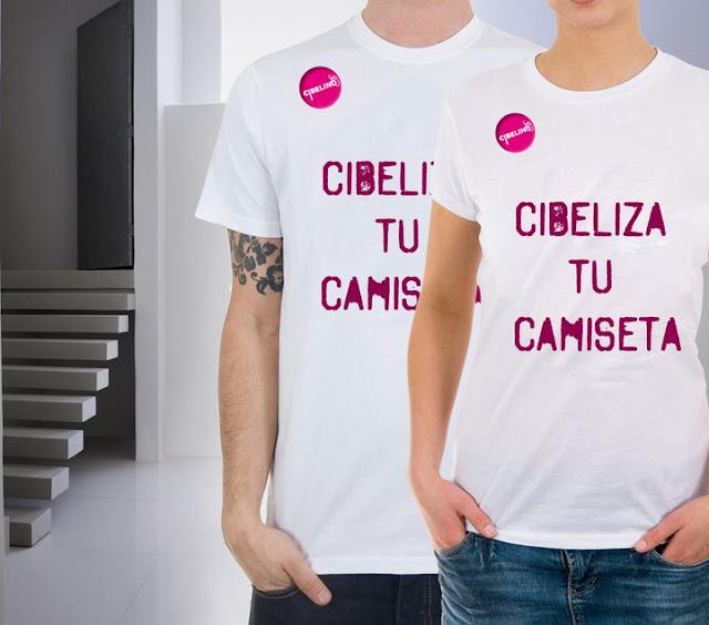 "CONCURSO ""¡CIBELIZA TU PROPIA CAMISETA!"""