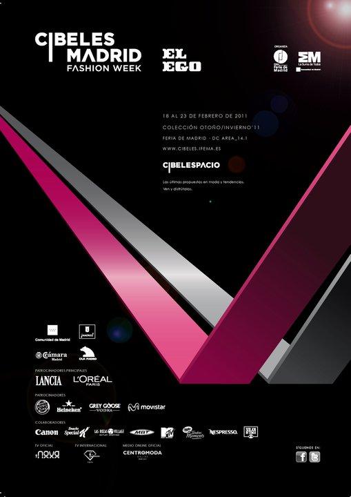 CIBELES MADRID FASHION WEEK. Nuevo logo y primeras novedades. Edición  febrero 2011.