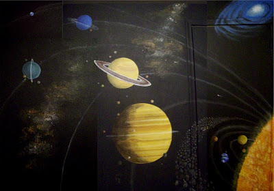 solar system on ceiling paint - photo #19