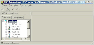 Tutorial Blog: Delphi - Interbase Tutorial # 1 : Borland Database Engine