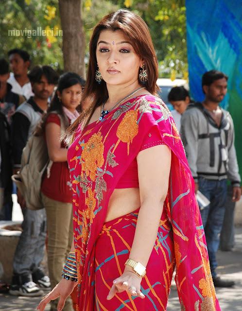 Aarthi Agarwal Hot Saree Pics