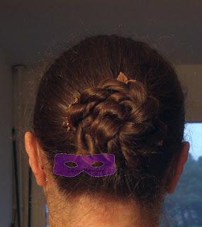 1001 coiffures: Tuto Coiffure : Chignon fleur (rose bun) illusion des cheveux longs