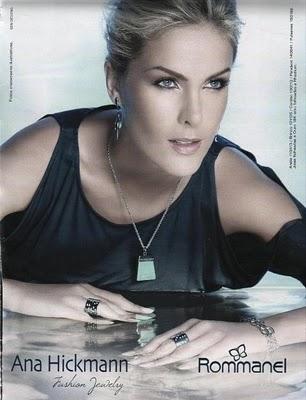 2ad3aee886917 Nova Campanha da Rommanel com a diva Ana Hickmann! A foto foi de Valério  Trabanco ...