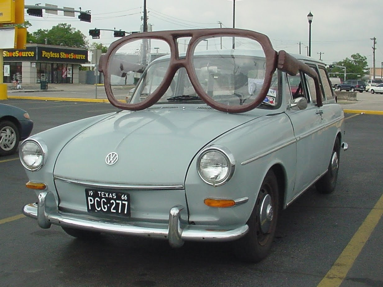 glasses car