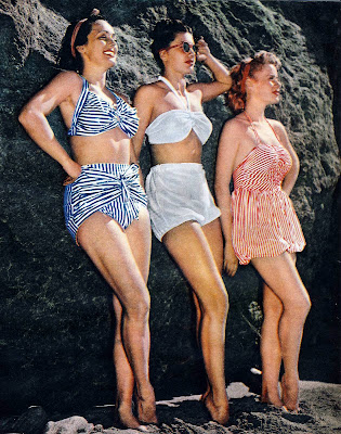 182d985aef Vintage Swimwear Revisited - Swimsuits of the 1940's and 1950's ...