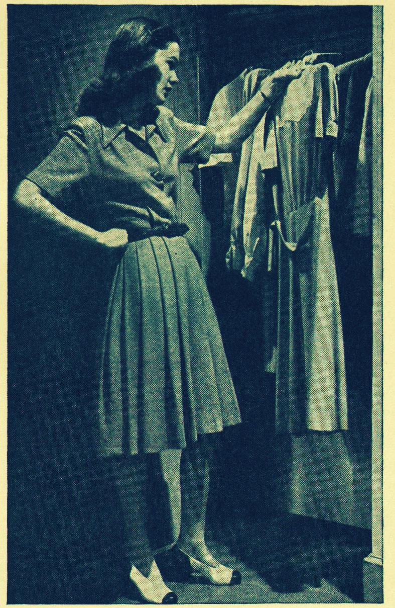 882f68af8765 1940 s Fashion writer Elisebeth Todd interviewed ordinary women like Betty  below