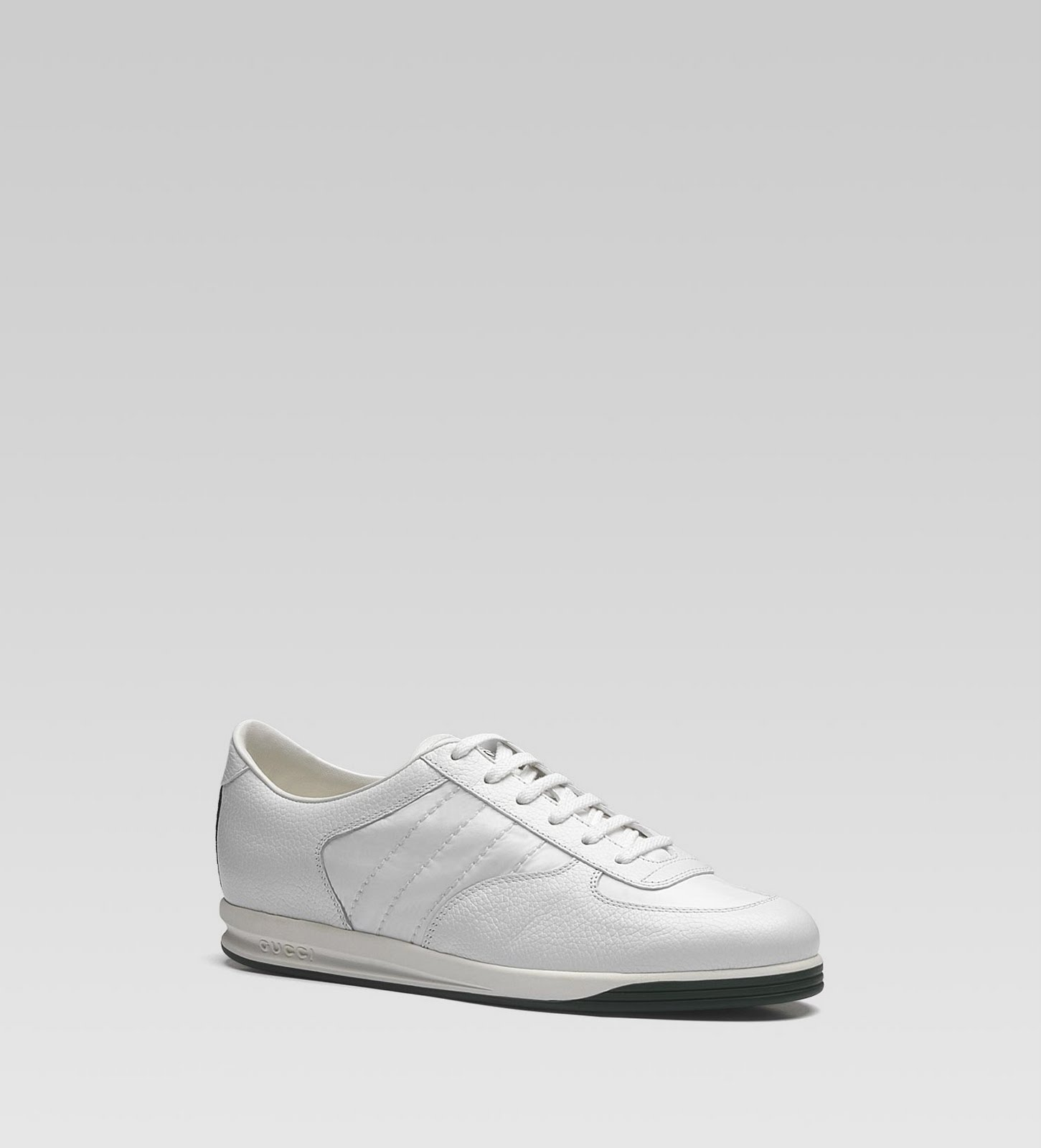 classic 1987 gucci lace up sneakers available now   375 http gucci com c7c5402e0680