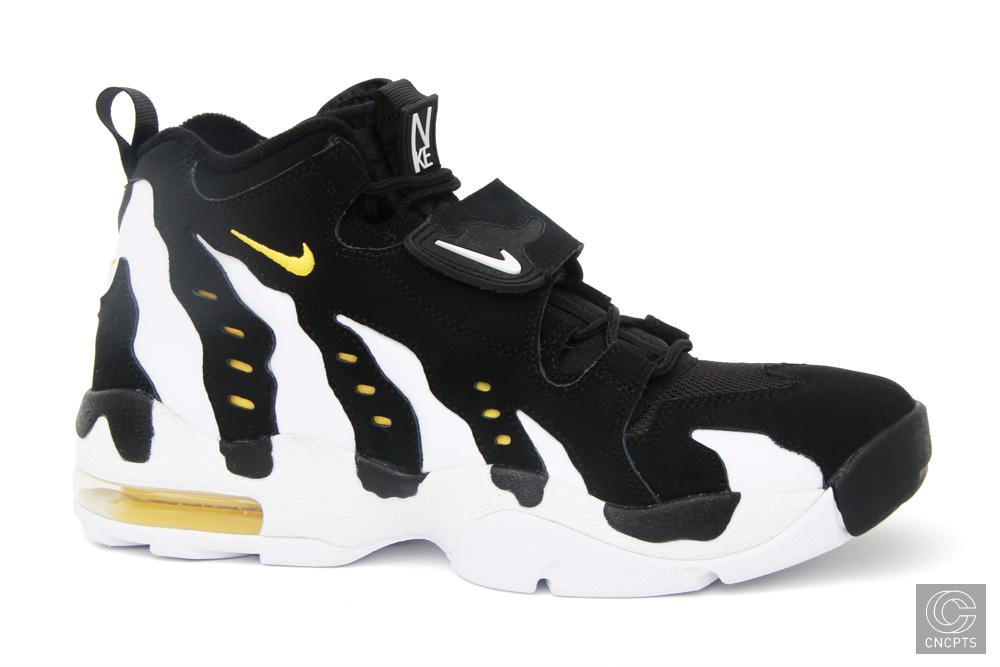 huge selection of 71ec7 7f971 Nike Air DT Max 96 Black White Gold Hitting Retail. Thursday, September 30,  2010
