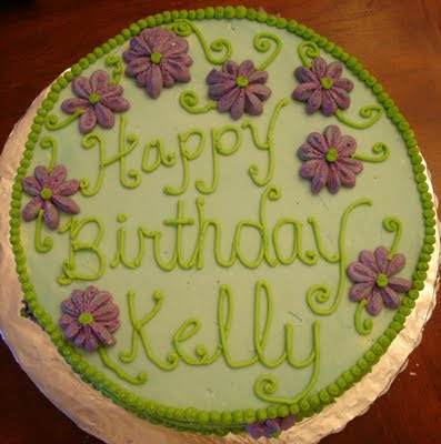 The Law Of Cupcakes Happy Birthday Kelly