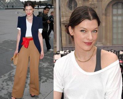 Milla Jovovich: Stylish Girl
