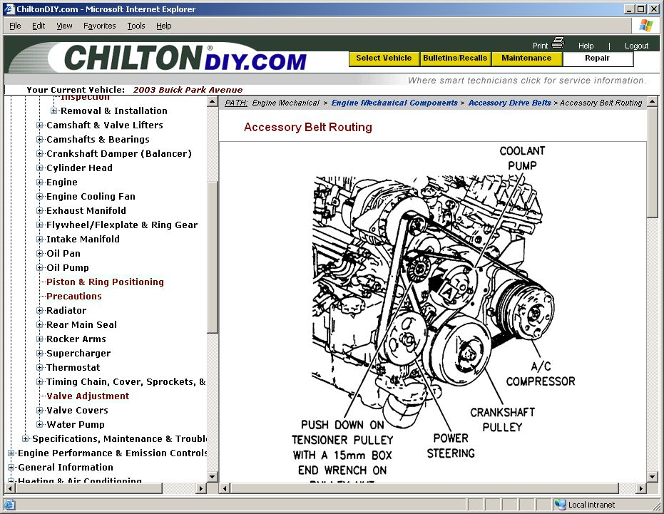 Chilton auto repair manual online free download.