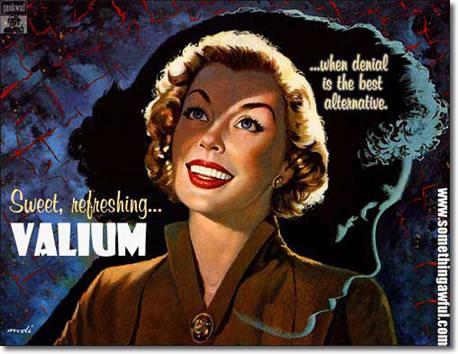 RINKLY RIMES: Valium