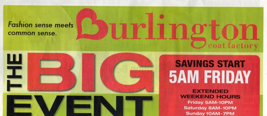 photograph regarding Burlington Coat Factory Printable Coupons named Coupon burlington manufacturing unit : Spouse and children resort promotions sydney