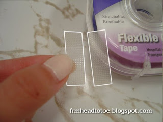 How To Cut Your Own Eyelid Tape - From Head To Toe