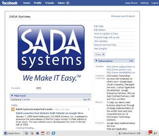 SADA Now on Facebook