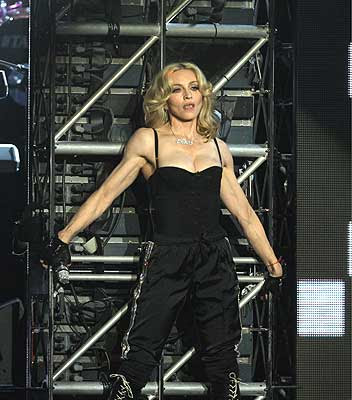 Madonna Rocks Her Body At The Ultra Music Festival In