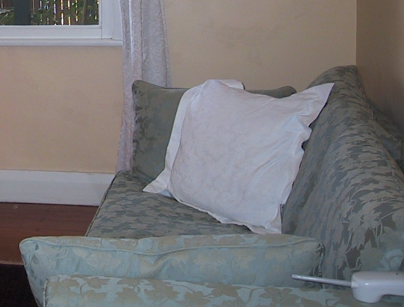 how to recover a sofa chair electric reclining leather reviews lilyfield life: recovering bed / lounge