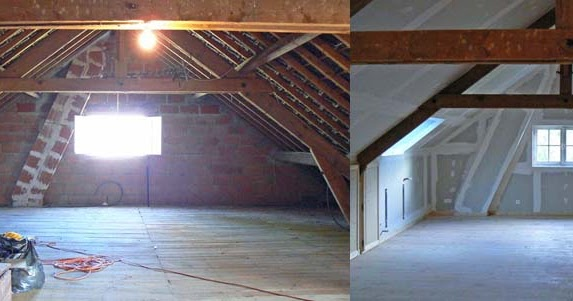Wcs The Attic Conversion Before And After