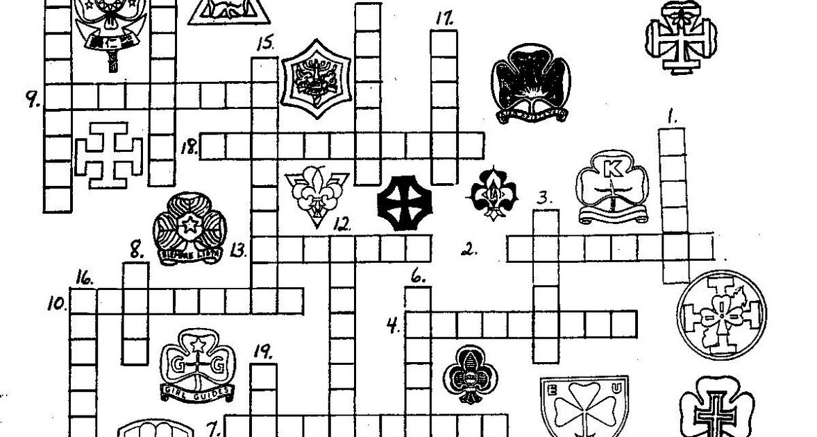 a canadian guider: WAGGGS Crossword Puzzle
