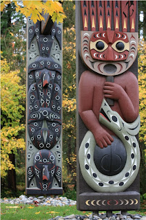 Vancouver BC totem pole