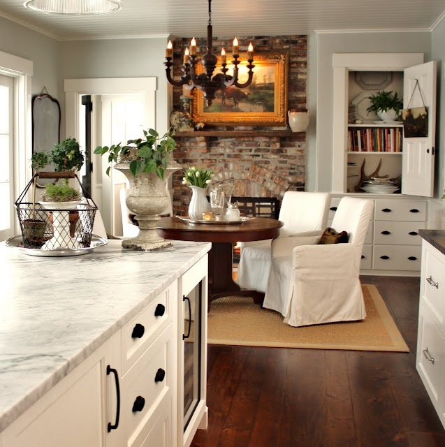 Benjamin Moore Antique White Kitchen Cabinets: For The Love Of A House: The Kitchen: Details
