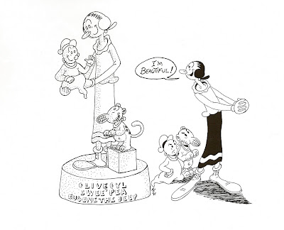A view from a Goon: Happy 90th Birthday, Olive Oyl