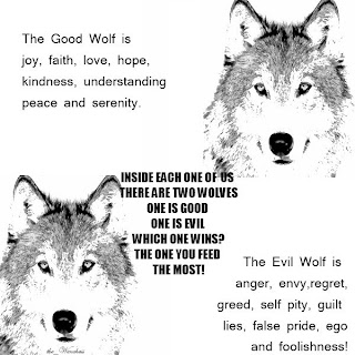 Live Online: Two Wolves inside of us..