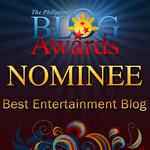 Philippine Blog Awards 2010 Nominee