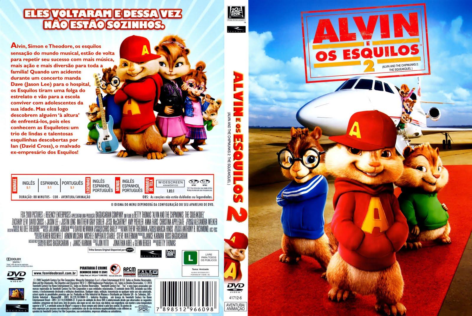 Assistir Alvin e os Esquilos 2 - Dublado Online - MM
