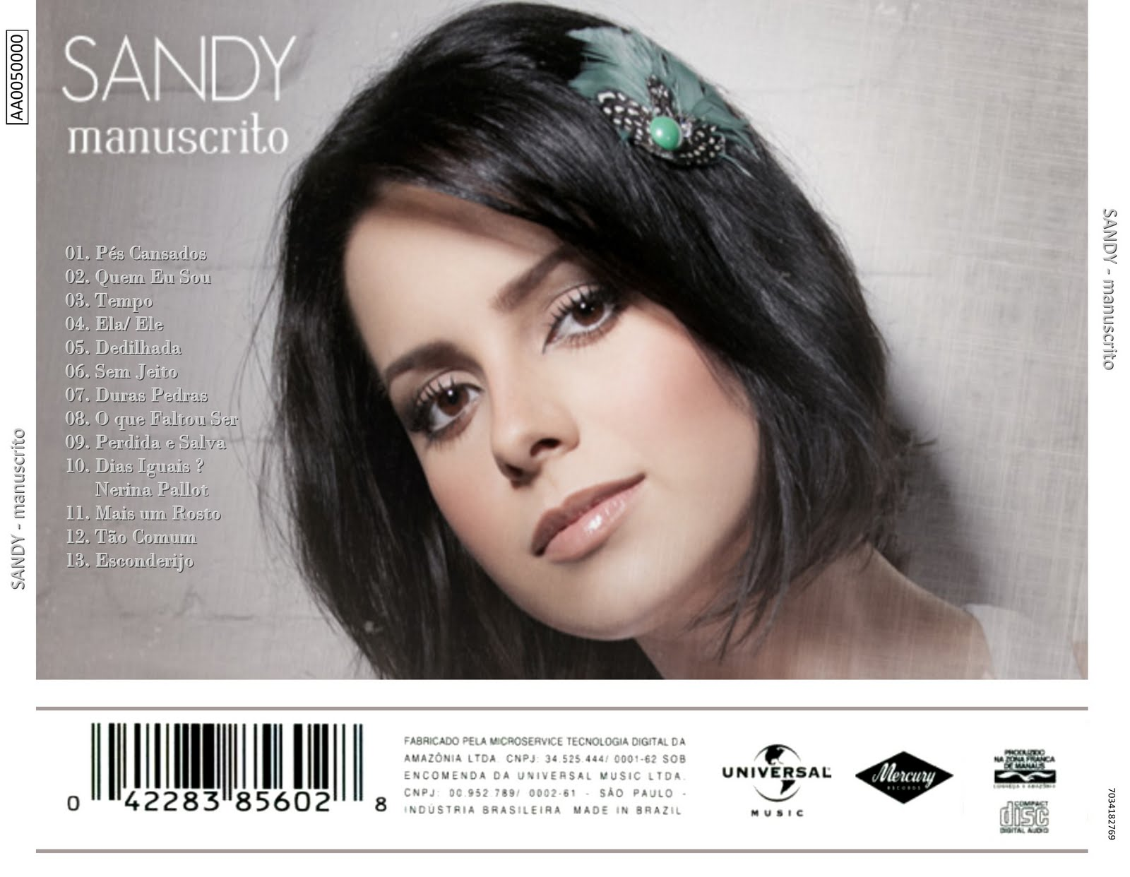 cd da sandy manuscrito para