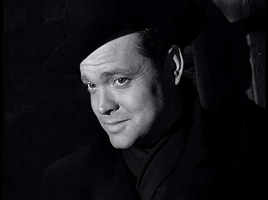 Film Noir The Third Man Harry Lime Orson Welles