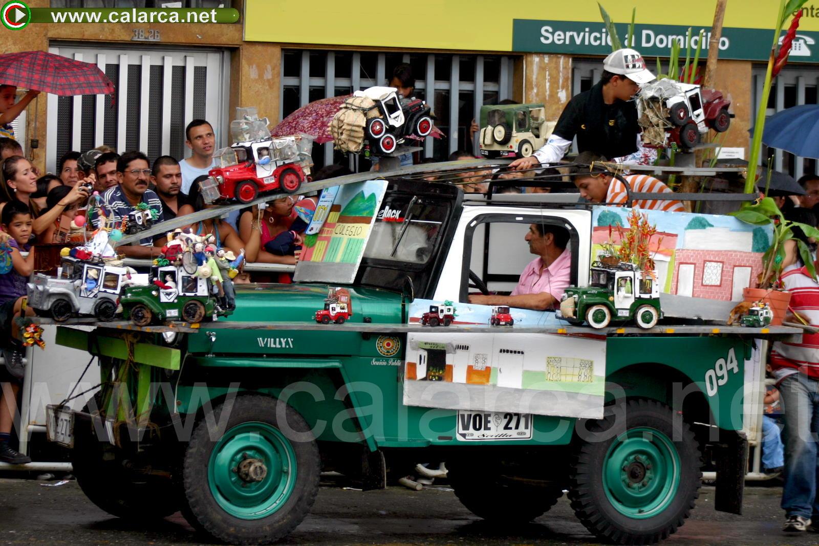 Desfile del Yipao en un Yipao