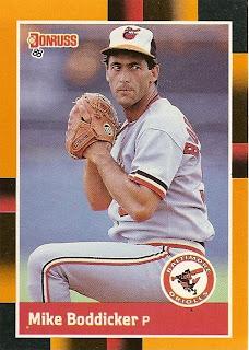 Orioles Card O The Day Mike Boddicker 1988 Donruss