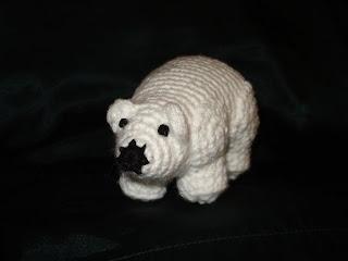 Fisher Polar bear amigurumi | 240x320