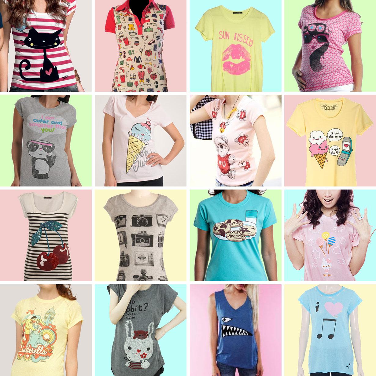 Estilista Simone Gums  T-shirt feminina - Um luxo! 4814e49c9c3a3