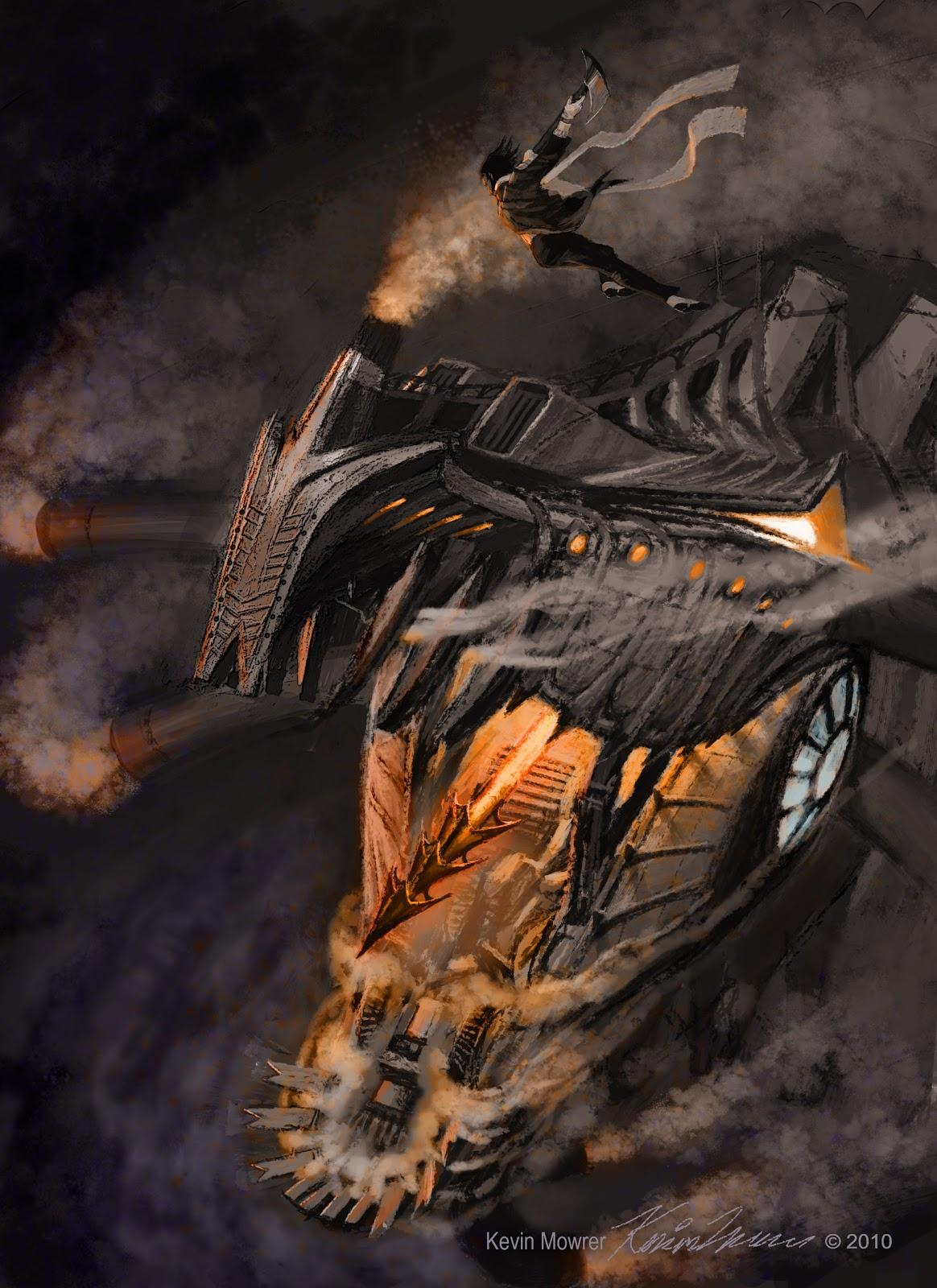 Dragon S Crown Gets New Character Art Screens Tarot: Steampunk Dragons