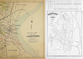 Map of the Week! #3 Hartford in 1640 and 1893 | Outside the Neatline