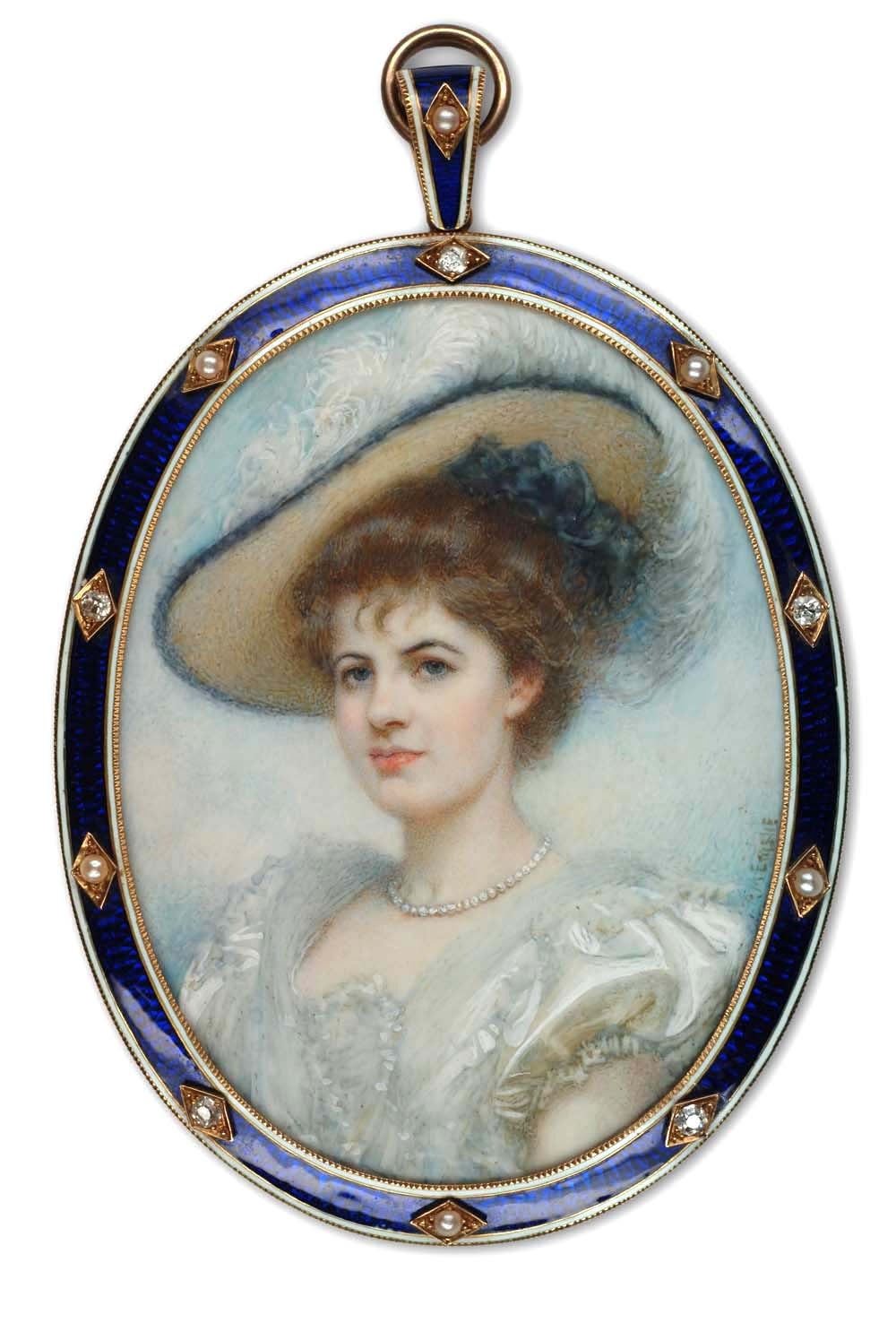 A Private Portrait Miniature Collection 19th Century