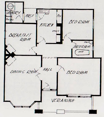 Art and architecture mainly californian bungalow for Californian bungalow floor plans