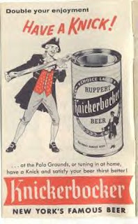 Knickerbocker Beer ad