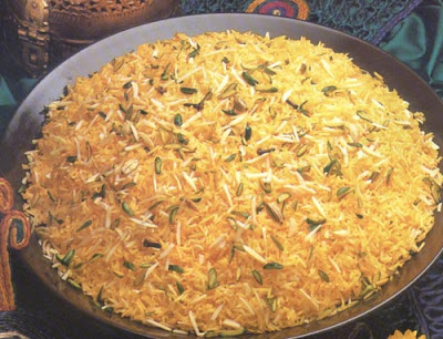 Sweet Brown Rice (Zarda)