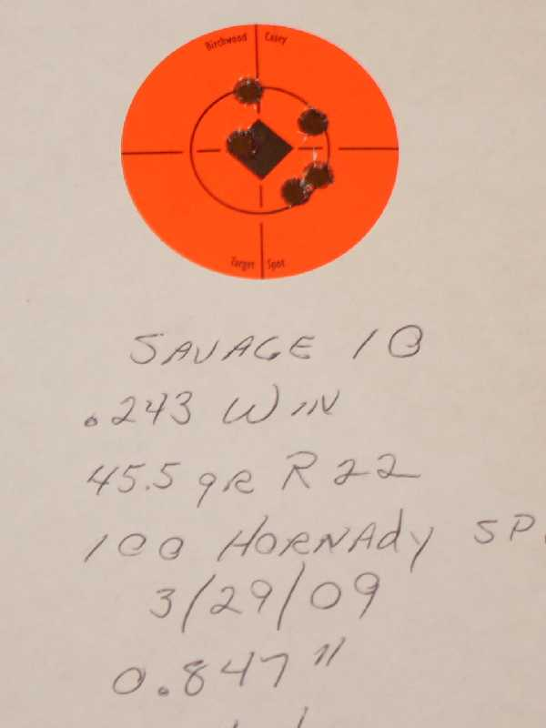 Remington Express Core-Lokt Accuracy Issues - The Firing