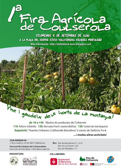 Organitzat per les associacions de veüns de Vallvidrera
