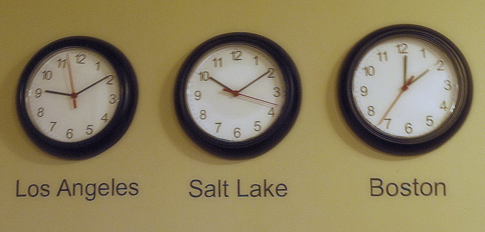 It is an image of Sassy Time Zone Clock Labels