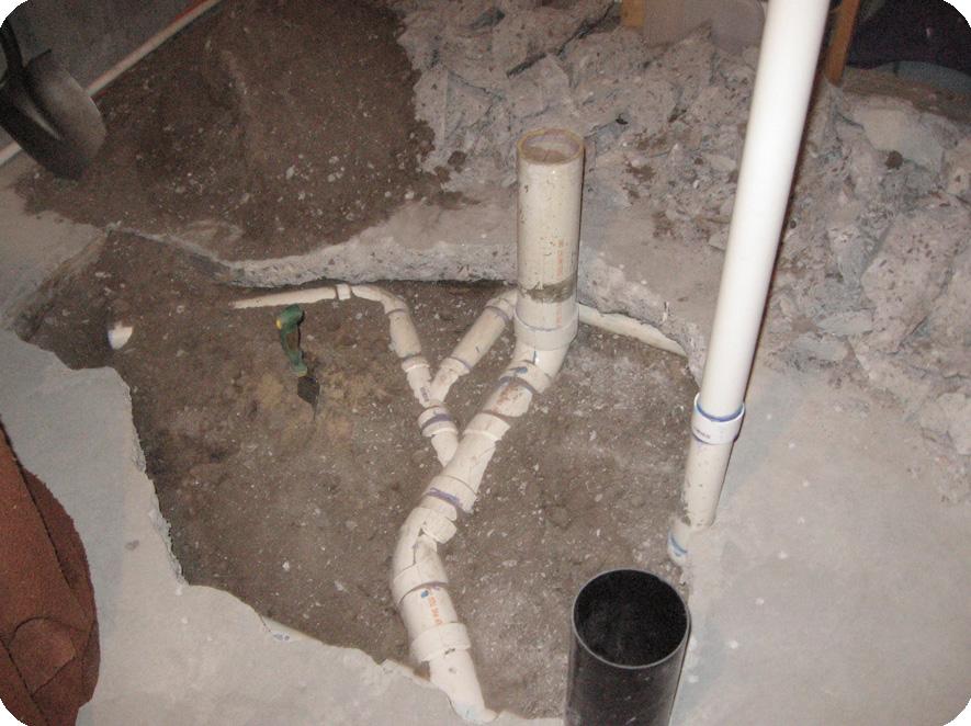 toilet vent plumbing diagram teco single phase motor wiring little house on the corner: what lies beneath (the bathroom floor)