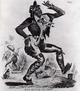 Jim Crow Minstrel Character
